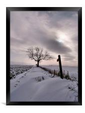 A Winters Tale, Framed Print