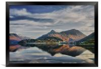 The Pap of Glencoe Scotland, Framed Print