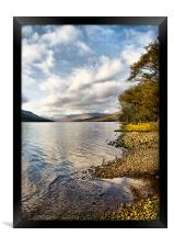 By Loch Arkaig, Framed Print