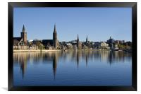 River Ness in Inverness Scotland, Framed Print