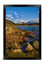 By The Shores of Loch Etive, Framed Print