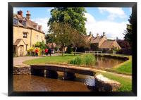 Lower Slaughter, Framed Print