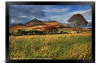 Autumn in the Mournes, Framed Print