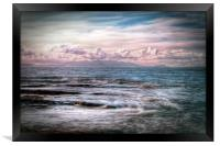 The Tide At Troon, Framed Print