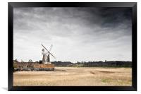 Cley Mill ... North Norfolk, Framed Print