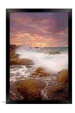 Dawn Tide Rising , Framed Print