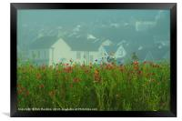 Swansea Wild Flowers , Framed Print