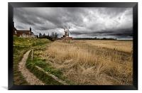 Path to Cley, Framed Print