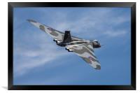 The Mighty Vulcan Bomber, Framed Print