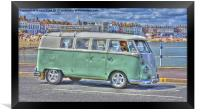 VW By The Sea, Framed Print