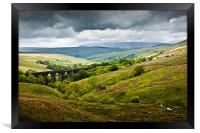 Dent Head Viaduct - North Yorkshire Dales, Framed Print
