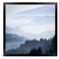 Rising above..., Framed Print