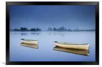 Blue Hour, Loch Rusky , Trossachs, Framed Print