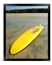 RNLI Surfing Lifeguards Gwithian, Framed Print