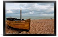 Dungeness Boat The Sparrow, Framed Print
