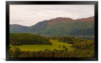 Loch Ness from Falls of Foyers viewpoint, Framed Print