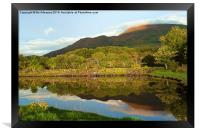 Reflections on Loch Etive, Framed Print