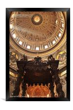 St. Peters Dome, Framed Print
