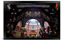 Crossness Pumping Station 3, Framed Print