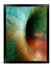 A Ring of bright Colours, Framed Print