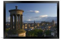 Edinburgh view from Calton Hill, Framed Print