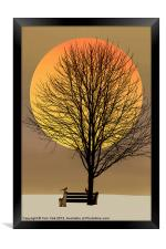 SATURDAY IN THE PARK, Framed Print