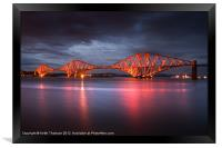 Forth Rail Bridge, Framed Print