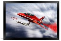 Farewell to XH558, Framed Print
