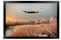A Cold Cold Morning, Framed Print