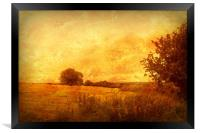 Autumn - Dundry Fields, Somerset., Framed Print