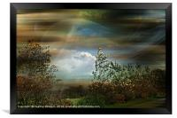 Moorland and Mists, Framed Print