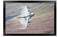 Gr4 on a low level approach, Framed Print