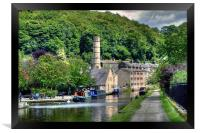 Hebden Bridge Yorkshire, Framed Print