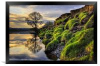 Along The Banks Of The River Lune, Framed Print