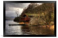 The Duke of Portland Boathouse, Framed Print