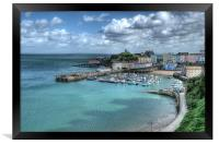 Tenby Harbour, Framed Print