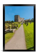 Tower Gatehouse and Bell Tower, Framed Print