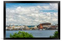 Out In The Bay, Framed Print