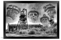 The Decline Of An Industry, Framed Print