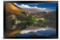 morning by Llyn Gwynant, Framed Print