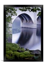 Ashopton Viaduct, Ladybower Reservoir, Framed Print