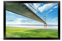 Shadows Across the Humber, Framed Print
