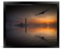 Vulcan to the North East, Framed Print