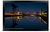 Clyde Reflections, Framed Print
