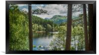 The Lochan, Framed Print