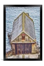 The Old Lizard Point Lifeboat Station, Cornwall, Framed Print