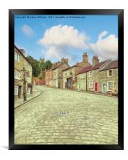 Steep Hill, Lincoln                               , Framed Print