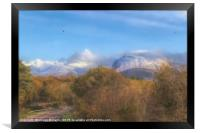 A Road to Ben Nevis, Framed Print