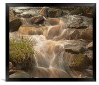 Fast Water, Framed Print