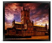 The Abbey, Framed Print